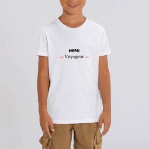 Mini Voyageur – T-shirt enfant 100% bio