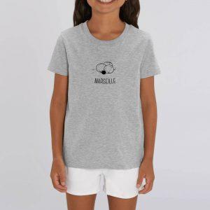 Marseille centré – T-shirt enfant 100% bio